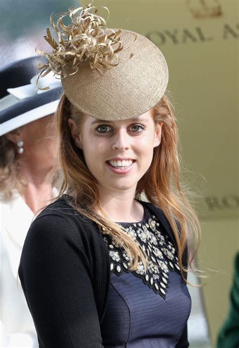 Princess Beatrice, Princess Eugenie and Princess Haya attend Ladies' Day at Ascot