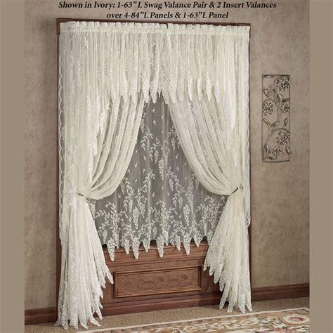 lace window shades wisteria arbor lace window treatments