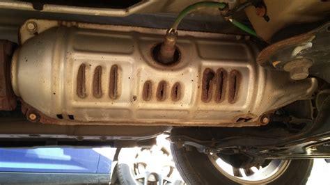 shield honda rust notice bolt loose right