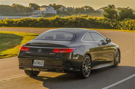 S 550 4matic coupe 2d. 2015 Mercedes-Benz S550 4Matic Coupe Review