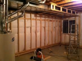 How to Build Basement Wall Framing