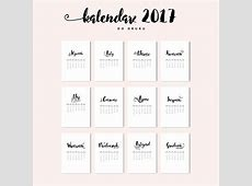 15 darmowych kalendarzy do druku na 2017 rok Po drugiej