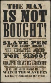 Anti-Slavery Broadsides
