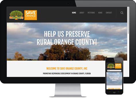web design orange county cms site for melbourne fl website design