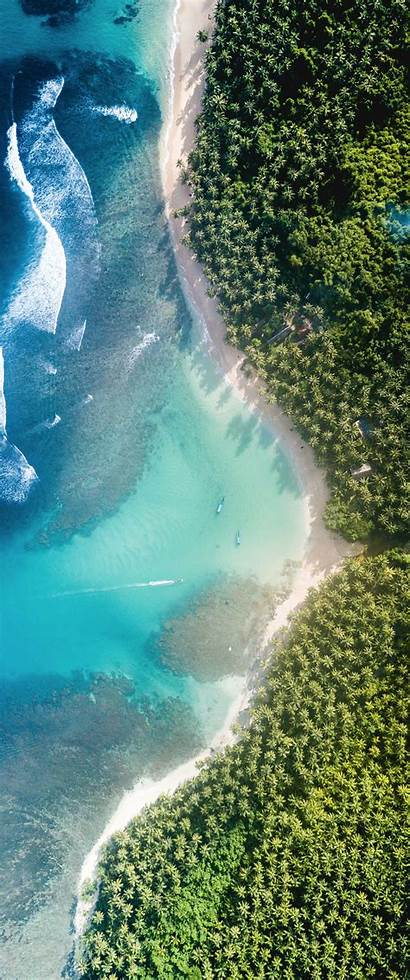 Paradise Vertical Aerial Monitor Ultrawide Wallpapers 1440