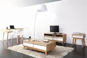 Bureau Design Scandinave : bureau design scandinave helia dans un int rieur contemporain ~ Teatrodelosmanantiales.com Idées de Décoration