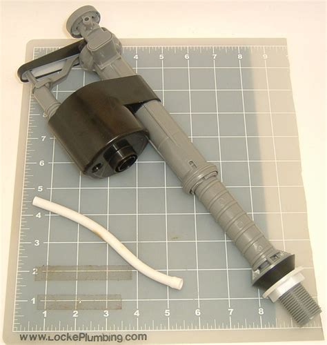 Here is the silent fill valve parts list: Mansfield M400A Fill Valve NEW NUMBER 2206 - Locke Plumbing