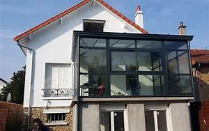 realisation extension de maison sur terrasse en hauteur a With extension maison en hauteur
