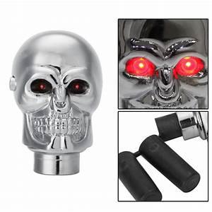 90% OFF Car Auto Human Skull Gear Shift Knob lever Stick