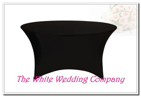 spandex table covers cheap 10 black 5ft round strenth spandex table covers cheap