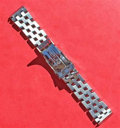 Breitling Bracelet 20mm Pilot Stainless Steel Polished