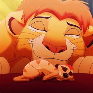 Lion King Simba and Timon