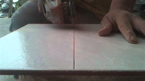 como cortar azulejo  pulidor sin estillartomen sus