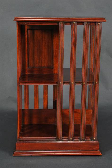 Woodworking Plans Rotating Bookshelf With Creative Example