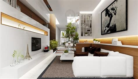 35 Modern Living Rooms with Cool and Clean Lines