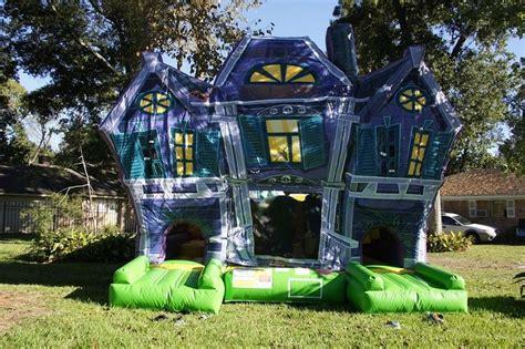 haunted house maze moonwalk halloween obstacle courses
