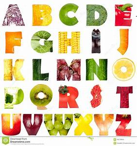 alphabet stock photo image 44278954 With pictures made of letters