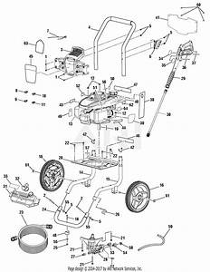 Homelite Ut80993d Pressure Washer Parts Diagram For