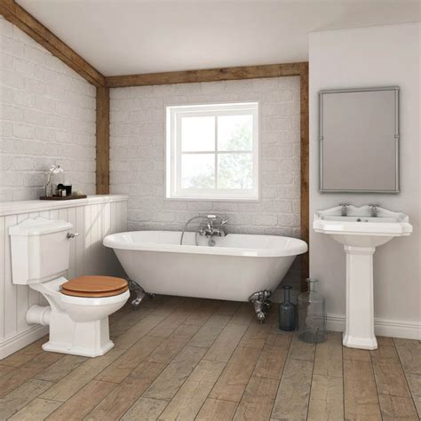 Legend Traditional Roll Top Bathroom Suite At Victorian
