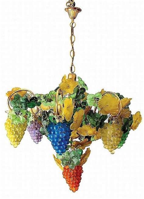 Italian glass grapes chandelier.   Chandelier   Pinterest