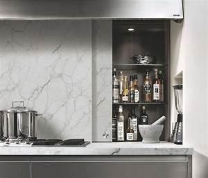 Plan De Travail Cuisine Marbre : plan de travail effet marbre sofag ~ Melissatoandfro.com Idées de Décoration