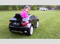 BMW X6 Toy car electric 12V 2WD YouTube