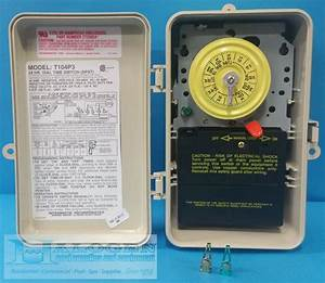 Intermatic Dpst 220 Volt Mechanical Time Switch