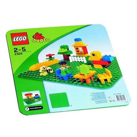 plaque lego duplo lego 2304 duplo plaque de base grand mod 232 le verte lego