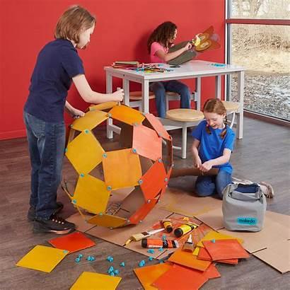Cardboard Projects Makedo Makerspace 1000 Level Start