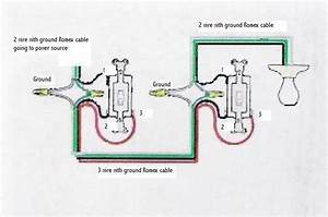 3 Way Switch Wiring Diagram For The Most Typical Setup