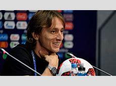 FIFA World Cup 2018 France vs Croatia Modric I am only
