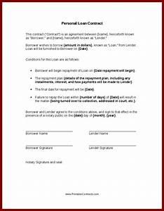 personal loan buzzjokercom With personal loan document sample