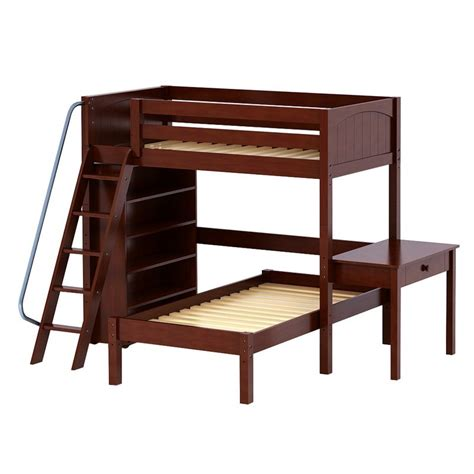 study desk and bookshelf knock out high loft bunk bed with study desk and bookcase