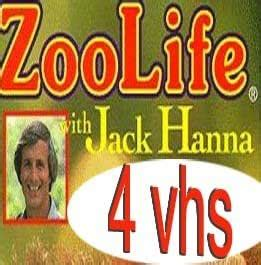 Amazon.com: zoo life with jack hanna set4 vhs : Zoo Life ...