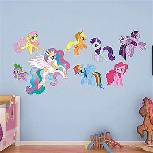 cute childrens wall decals kids bedroom wall decoration With cute my little pony wall decals