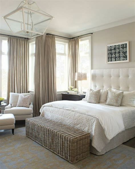 rideau chambre à coucher adulte les rideaux occultants les plus belles variantes en photos