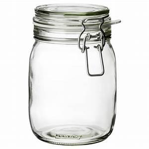 Pot En Verre Ikea : korken jar with lid clear glass 1 l ikea ~ Teatrodelosmanantiales.com Idées de Décoration