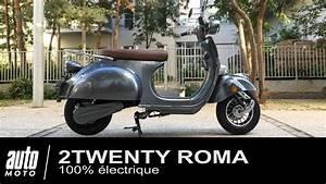 Scooter Electrique 2 Places : scooter lectrique fa on vespa 2twenty roma essai pov auto youtube ~ Melissatoandfro.com Idées de Décoration