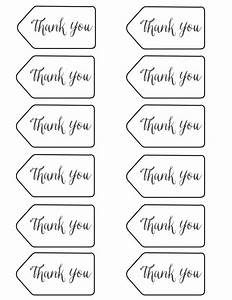 thank you tags printable graduation party ideas With free printable thank you tags template