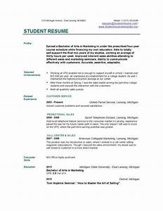How to write resume college student free resume builder for Academic resume builder