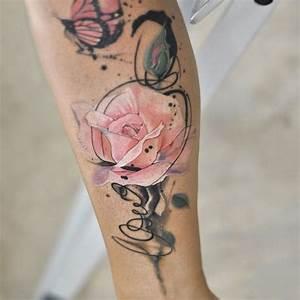 Tattoos Mit Bedeutung Für Frauen : 50 ideen f r rosen tattoo das symbol der wahren liebe tattoos zenideen ~ Frokenaadalensverden.com Haus und Dekorationen