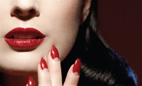 dita von teese nails dita von teese finally launches the makeup line we ve all