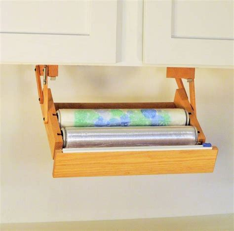 Ultimate Storage Under Cabinet Cling Wrap Dispenser