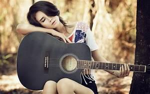 Guitar girl wallpaper 12 - Photography Wallpapers - Free ...
