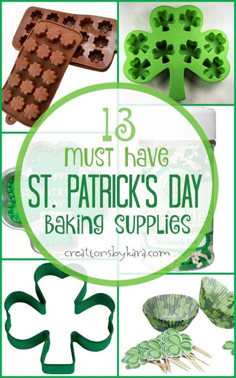 fun st patricks day baking  party supplies creations