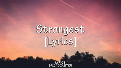 strongest lyrics walker alan ina wroldsen remix