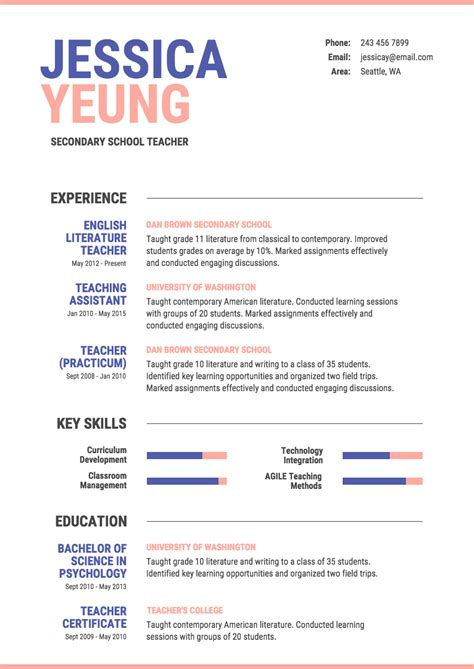 Formal Resume Template by Formal Resume Template Venngage
