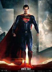 Justice League Movie Poster (Superman is back) by ...