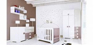 deco chambre enfant chocolat With chambre bébé design avec chocolat fleurs