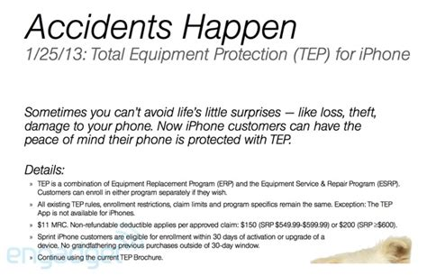 sprint plans to extend tep insurance plans to iphones